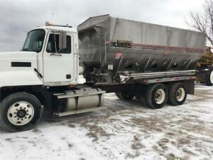 2000 Mack with Adams Side Shooter Tender Truck