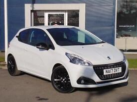 2017 PEUGEOT 208 HATCHBACK 1.2 PureTech 82 Black Edition 3dr