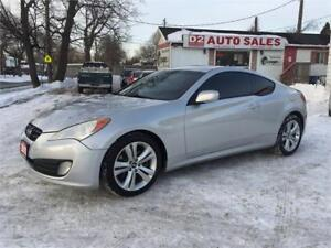 2010 Hyundai Genesis Coupe 2 Year Warranty/6 Speed/Certified