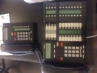 Nortel Networks BCM50 office telephone system.