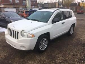 2007 Jeep Compass Sport 4x4, Automatic, Sunroof