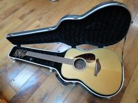 Yamaha FG730S acoustic guitar + Kinsman hardshell case