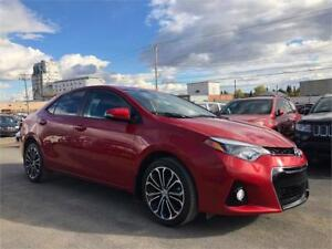 2016 Toyota Corolla S -LOW KMS/BACKUP CAMERA/BLUETOOTH + MORE