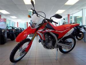 2017 Honda CRF250L   $32 A WEEK TAX INCLUDED