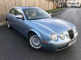 JAGUAR S-TYPE 2.5 V6 4DR AUTOMATIC (blue) 2005