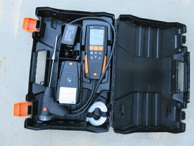 Testo 310 Residential Combustion Analyzer Flue Gas Analyzer With Printer Kit
