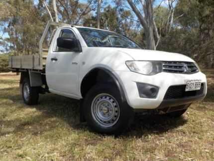 2009 Mitsubishi Triton ML MY09 GLX 5 Speed Manual Utility