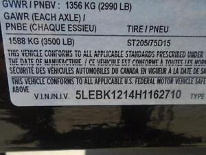 5 TON DECK OVER EQUIPMENT TRAILER - SALE PRICED, 102''X18' LONG London Ontario image 5