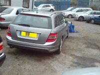 Mercedes w204 07-2010 C CLASS ESTATE AMG STYLE REAR BUMPER £85 BREAKING ALLOYS,DOORS,SEATS for sale  Newcastle-under-Lyme, Staffordshire