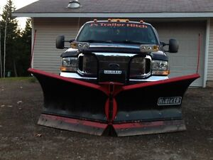 Snow plow removal services in Amherst N.S