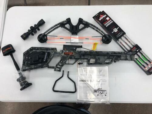 TenPoint/Wicked Ridge Rampage 360 Acudraw 50 Crossbow Pkg - Factory Demo