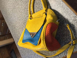 Colourful purse NEW never used