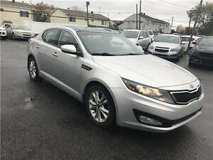 KIA OPTIMA 2012 AUTOMATIQUE FULL AC MAGS CUIR TOIT MAGS 103000KM