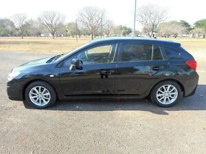 2012 Subaru Impreza G4 MY12 2.0i-L Lineartronic AWD Black 6 Speed Constant Variable Hatchback