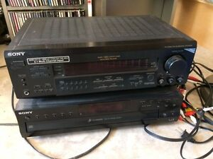 Sony 5.1 multi channel and 5 disc changer
