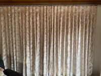 Thermal lined custom made Curtains