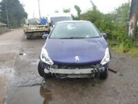 PEUGEOT 208 - OW15RVL - DIRECT FROM INS CO