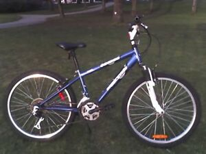 "Small Mountain Bike w 24"" Wheels"