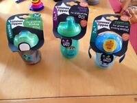 NEW - bundle of training cups / sport bottle TOMMEE TIPPEE
