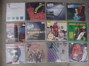 new and used Records, Vinyl LP's, 45's, CD's, DVD's, posters,