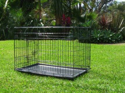 "LARGE 36"" Dog Rabbit Cat Pet animal Collapsible cage crate Somersby Gosford Area Preview"