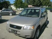 2001 Ford Escape 66000 km! Local one owner! MUST SEE! 4x4