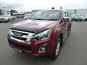 2019 Isuzu D-MAX MY19 LS-U Crew Cab Red 6 Speed Sports Automatic Utility Dandenong Greater Dandenong Preview