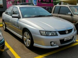 2005 Holden Calais VZ Silver 5 Speed Sports Automatic Sedan