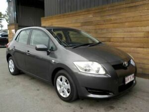 2007 Toyota Corolla ZRE152R Ascent Grey 4 Speed Automatic Hatchback Labrador Gold Coast City Preview