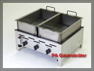 Edelstahl Grillpfanne Für Gasgrill : Deluxe tragbarer gasgrill mit grillpfanne mit
