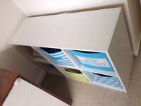 HOME Phoenix 6 Cube Storage Unit - Bookcase - White
