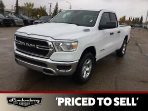 2019 Ram 1500 QUAD CAB TRADESMAN 4X4            PARKVIEW BACK-UP