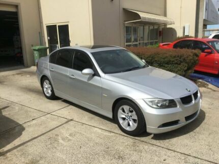2006 BMW 320i E90 Silver 6 Speed Auto Steptronic Sedan