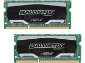 Crucial Ballistix Sport 16GB Desktop Memory Kit