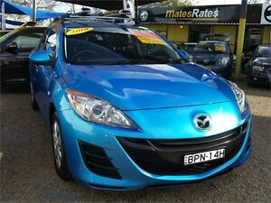 2010 Mazda 3 BL10F1 MY10 Neo Blue 6 Speed Manual Hatchback Minchinbury Blacktown Area Preview