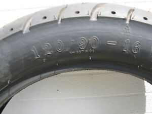 1 - Brand New Motorcycle Tires ( Only the Middle One Left) Kawartha Lakes Peterborough Area image 6