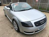 Audi TT Roadster Quattro Convertible PETROL MANUAL 2002/02