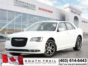2017 Chrysler 300 300S leather, heated seats, back-up camera