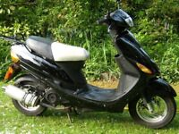 DIRECT BIKES 50cc SCOOTER 1 OWNER 7300 MILES ONLY SAME AS A PEUGEOT
