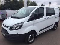 Ford Transit Custom 2.2TDCi ( 125PS ) Double Cab-in-Van 2013.5MY 290 L1H1