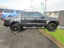 2014 Ford Ranger PX Wildtrak Double Cab Black 6 Speed Sports Automatic Utility Cardiff Lake Macquarie Area Preview