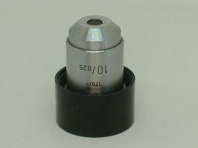 Leitz 170- 100.25 Microscope Objective 39a