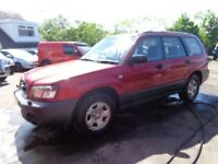 2004 04 reg subaru forester x estate 2l mot to 2/2019 good we cheap 4x4 £890