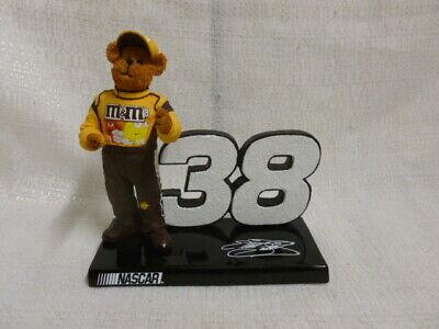 Elliot Sadler M & M #38 Boyds Bear Nascar Racing Figurine 919497