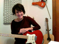 BEGINNER GUITAR LESSONS with ISABELLE!