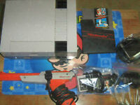 Original Nintendo+Mario with Zapper/Restored/Old Skool~
