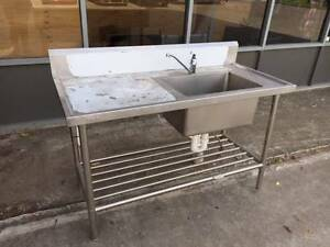 Stainless steel sink - large size Braybrook Maribyrnong Area Preview