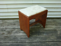 Small Wooden Bench / Stool