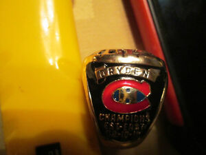 KEN DRYDEN  STANLEY CUP MONTREAL CANADAINS RING NICE Cornwall Ontario image 3