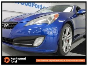 2010 Hyundai Genesis Coupe 3.8 GT coupe with heated seats and pu